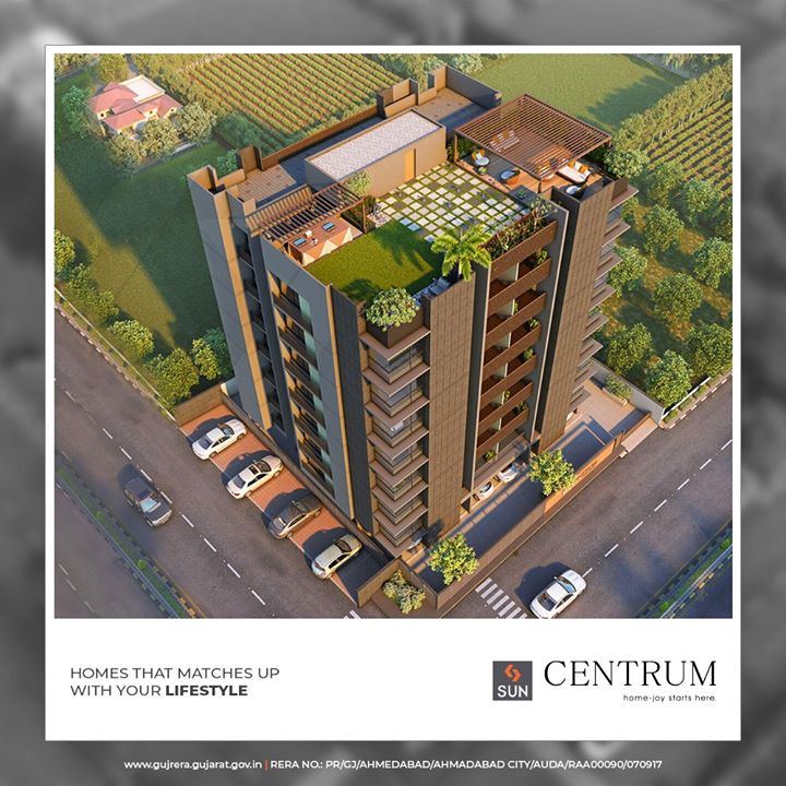 A haven of luxury in a world class city.  #SunCentrum #SunBuildersGroup #RealEstate #SunBuilders #Ahmedabad #Gujarat