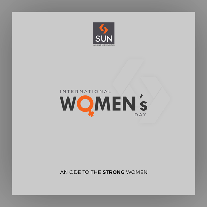 An ode to the strong women.  #WomensDay #women #WomensDay2020 #RespectWomen #EachforEqual #InternationalWomensDay #InternationalWomensDay2020 #SunBuildersGroup #Ahmedabad #Gujarat #RealEstate