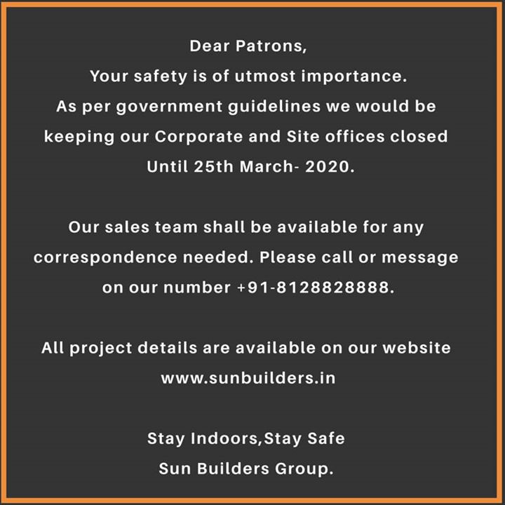 Sun Builders,  SunBuilders, RealEstate, ProgressiveSpaces, Ahmedabad, Gujarat, SunWestBank, AshramRoad2point0
