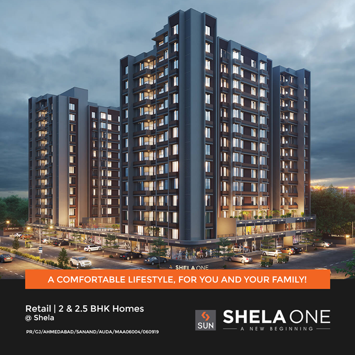Make the Right Choice by buying your dream property at Shela, Ahmedabad. Shela is an upcoming and rapidly growing area in Ahmedabad having close proximity to all necessary amenities like Hospitals, Schools, Markets, Highways and much more. Your dream location is waiting for you to create New Memories and Achieve Success.  For Details Call +91 9978932061  #Shela #Ahmedabad #retail #residential #SunShelaOne #SunBuildersGroup #Gujarat #RealEstate #SunBuilders