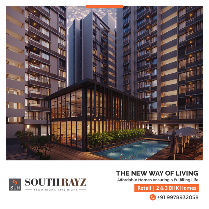 Live Right with Sun South Rayz where every ray of sunshine ensures quality time and a fulfilling life. Residential & Retail properties together create a life of your dreams where proximity and affordability are your companions.  For Details Call +91 9978932058  #SunSouthRayz #SunBuildersGroup #Ahmedabad #Gujarat #RealEstate #SunBuilders #Retail #Residential #Affordablehomes
