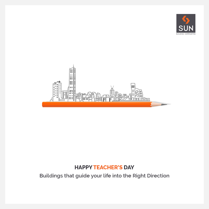 Sun Builders,  HappyTeachersDay, TeachersDay, TeachersDay2019, SunBuildersGroup, Ahmedabad, Gujarat, RealEstate, SunBuilders