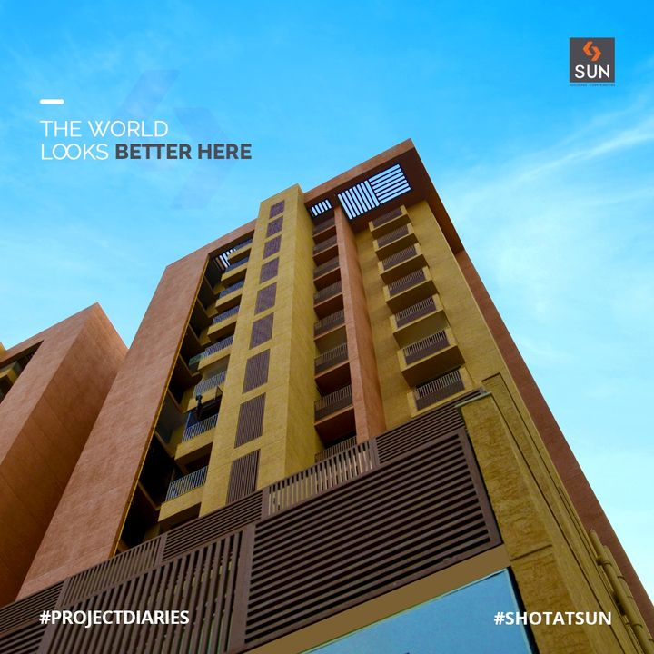 The World looks better at Our Completed Project Sun South Park. We believe in offering you the Joy of Space, Comfort, Fun & Trust, where everything you want within your reach in our Residential Projects.   #SunSouthPark #CompletedProject #ProjectDiaries #ShotAtSun #SunBuilders #SunBuildersGroup #3BHKLiving #4BHKLiving #3BHK #4BHK #PremiumLiving #Ahmedabad #Gujarat #RealEstate #Residential #southbopal