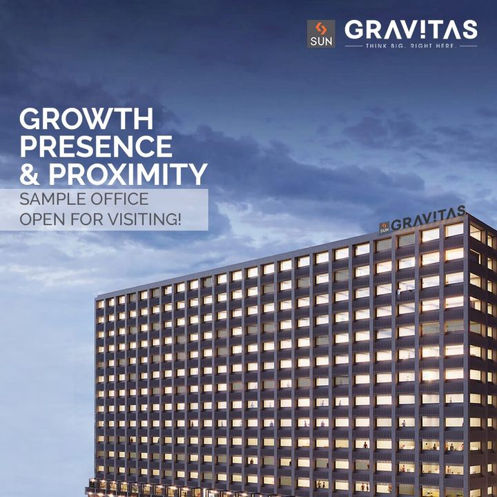 Take a tour of your dream work space, Sun Gravitas' sample office is now open for visiting.  Locate your business where growth, presence and proximity resides. Apt for start-up size retail and office spaces, this is where ideas and return on investments touch greater heights. For Details Call: 987932058  Architect: @hm.architects Location: Shyamal Cross Road Status: Under Construction  #SunBuildersGroup #SunBuilders #SunGravitas #SampleOffice #CommercialSpace #Offices #Retail #Showrooms #BuildingCommunities #SmartInvestment #ShyamalCrossRoad #RealEstateAhmedaba