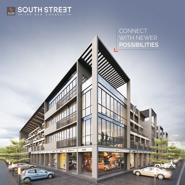 Sun South Street is a ready possession commercial establishment ideal for healthcare, fashion outlets, cafes & restaurants. The G+3 Levels of Exclusive Retails offers unlimited possibilities to captive audience and become the social hot-spot of South Bopal.  Architect: @hm.architects Location: South Bopal Status: Ready Possession  #SunBuildersGroup #SunBuilders #SunSouthStreet #Retail #Showrooms #SouthBopal #SOBO #ReadyPossession #DeliveredProject #BuildingCommunities #RealEstateAhmedabad