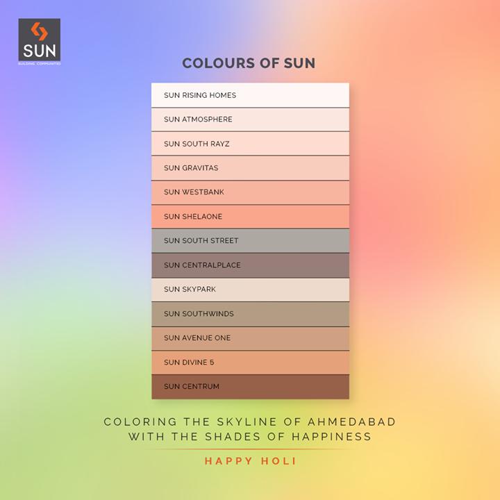 #Holi #HappyHoli #Holi2021 #Colours #FestivalOfColours #HoliHai #Festival #IndianFestival #SunBuildersGroup #SunBuilders #RealEstateAhmedabad #IndiasFinestDevelopers #BuildingCommunities