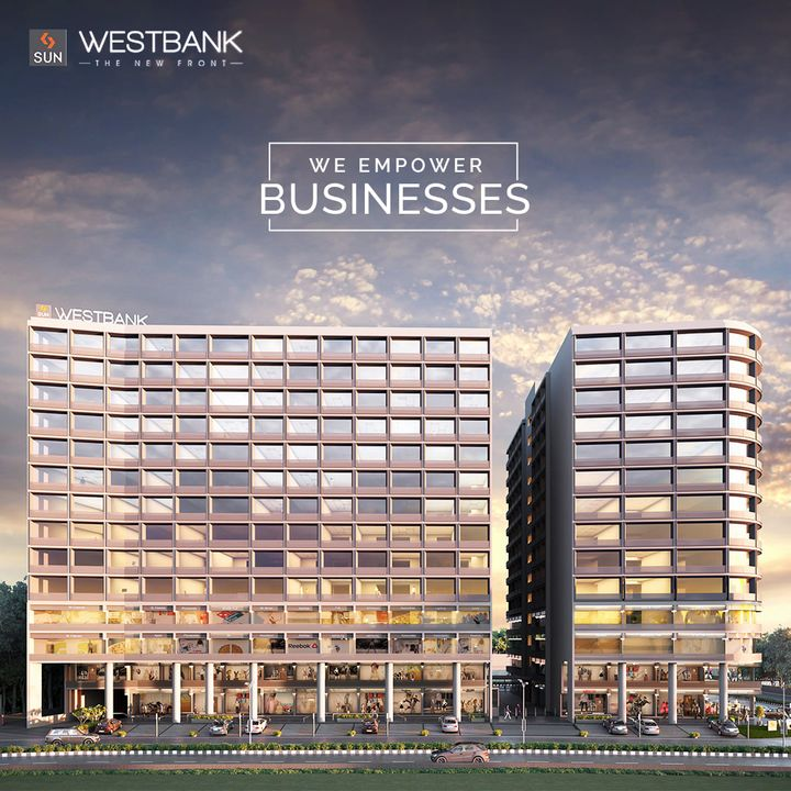 Sun Builders,  SunBuildersGroup, SunBuilders, SunWestBank, Commercial, Offices, Retail, AshramRoad, RiverFront, PossessionShortly, BuildingCommunities, SmartInvestment, realestateahmedabade