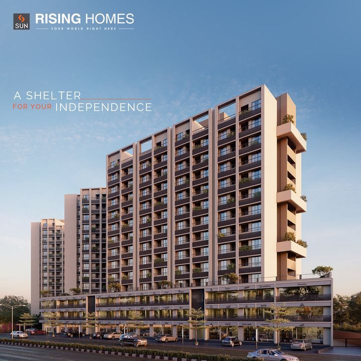 Be where your Independence takes a fruitful turn. Sun Rising Homes is here to cater to all the Millennials & Working Professionals out there who wish to fulfil their aims & aspirations as they live conveniently & compactly. Take the first step to begin a life of joy with 1 & 1.5 BHK Homes at Jagatpur.  For Details Call: +91 95128 06115  Architect: @hm.architects Location: B/S Godrej Garden City, Jagatpur Status: Just Launched  #SunBuildersGroup #SunBuilders #SunRisingHomes #RisingHomes #Residental #Retail #CompactLiving #AffordableHomes #Homes #1BHK #1.5BHK #Jagatpur #BuildingCommunities #RealEstateAhmedabad