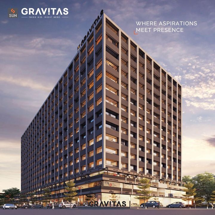 It is time to grab the right opportunity! With a simple yet imposing structure, Sun Gravitas provides motivating spaces for small to medium & very large set-ups that are beginning but aspiring as they meet the right presence at Shaymal Cross Road.   For Details Call: +91 9978932058  Architect: @hm.architects Location: Shyamal Cross Road Status: Under Construction  #SunBuildersGroup #SunBuilders #SunGravitas #SampleOffice #CommercialSpace #Offices #Retail #Showrooms #BuildingCommunities #SmartInvestment #ShyamalCrossRoad #RealEstateAhmedabad