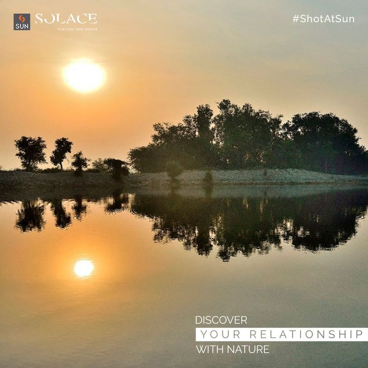 Sun Solace is not just a place, it is a paradise. Experience the true expression of Nature in all its glory and let your life take a new dimension, amidst seamless landscaping with sparkling water bodies.  Be a part of this gated community with plots starting from 300 Sq. Yards. For Details Call: +91 99789 32062  #SunBuildersGroup #SunBuilders #SunSolace #WeekendGetaway #WeekendHome #Sanand #Nalsarovar #RealEstateAhmedabad