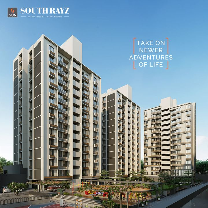 Live Right within surroundings that take you on an adventure of living the life of your dreams. The proximity to hospitals, shopping arcades, food outlets, fitness centers & educational institutes will make your life effortless and functional. This extremely well-positioned project provides everything that you can call home in heart of South Bopal.  For Details Call: +91 9978932058  Architect: @hm.architects Location: South Bopal Status: Construction in full swing  #SunBuildersGroup #SunBuilders #SunSouthRayz #Home #Retail #Residential #AffordableHome #2BHK #3BHK #SouthBopal #SOBO #RealEstateAhmedabad