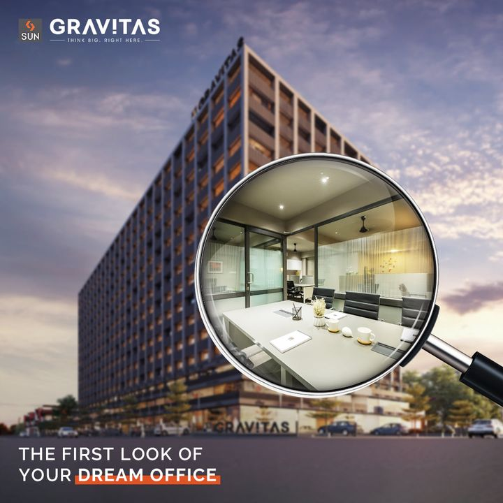Visit your dream office space & locate your business in midst of growth, proximity and a conducive environment. Sun Gravitas is here to gravitate you towards productivity as you think big, right here.  For Details Call: +91 9978932058  Architect: @hm.architects Location: Shyamal Cross Road Status: Possession in Dec 2021  #SunBuildersGroup #SunBuilders #SunGravitas #SampleOffice #CommercialSpace #Offices #Retail #Showrooms #BuildingCommunities #SmartInvestment #ShyamalCrossRoad #RealEstateAhmedabad