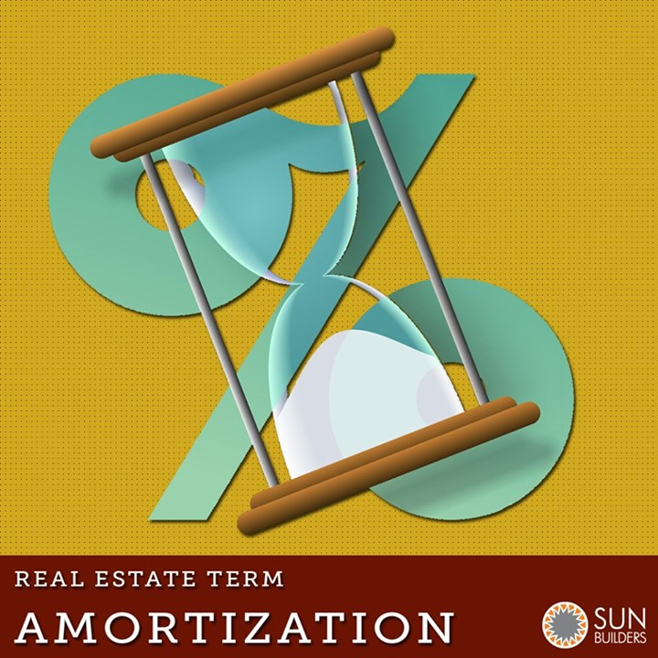 #Amortization means to repay the loan principal through equal payments over a designated period of time consisting of both principal and interest. Now pat your back if you already knew it and if you didn't, you're now one step closer to being a smart #investor