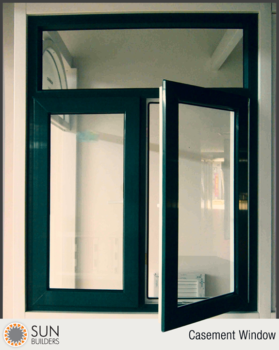 Term of the Day: #CasementWindow  A window frame hinged on one side so that it swings out or in to open.