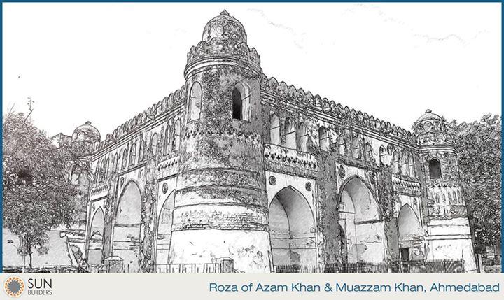 Sun Builders,  ahmedabadheritage, landmark