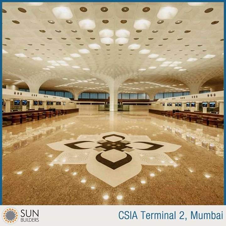 The CSIA Terminal 2 designed by international architectural design firm Skidmore, Owings and Merrill (SOM) at the Mumbai airport is a work of art and is expected to serve 40 million travellers per year, nearly twice as many as the building it is replacing. Read more at http://goo.gl/u5bK4q