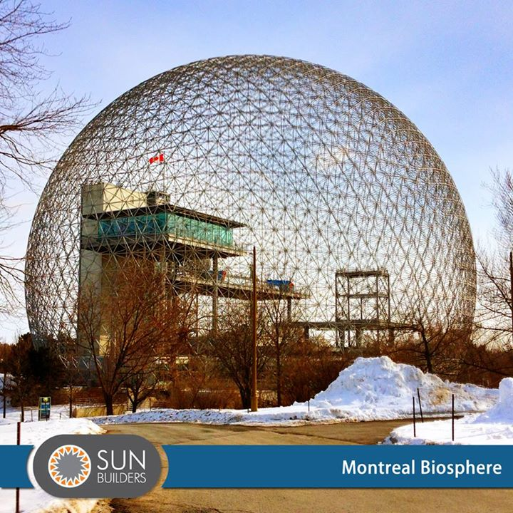 An architectural masterpiece, the Montreal Biosphere, an environment museum in Canada is a rare site for information and raising awareness about the major environmental issues related to water, air, climate change, and sustainable development. #Landmark #Architecture