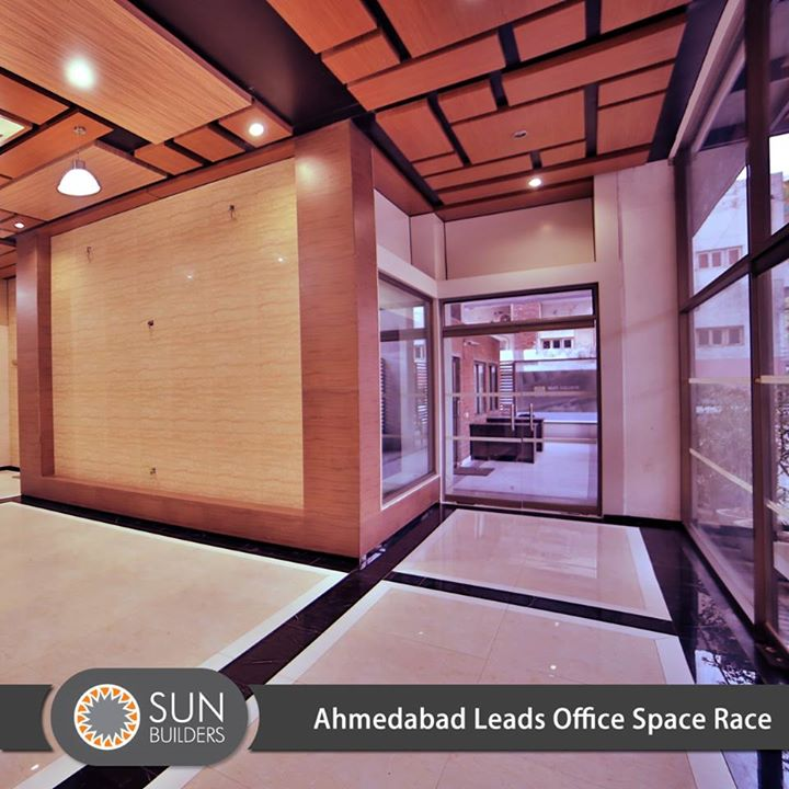 Ahmedabad led the country with a 163% growth in net office space absorption in 2014. Read more about how other cities fared at http://goo.gl/ll2vMP #Office #RealEstate #Growth