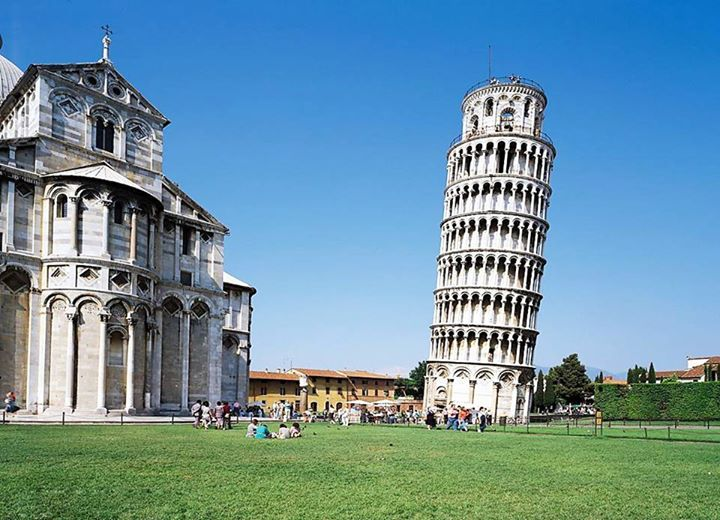 #ConstructionFact - It took 199 years to build the Leaning Tower of Pisa, beginning in August 1173. The construction was stopped twice, the first time for 100 years, the second time in 1284. Both times it was due to wars.