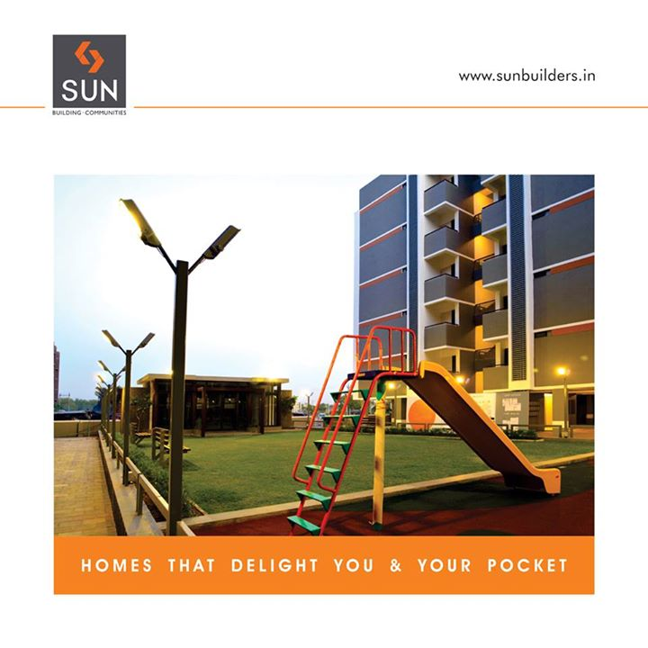Sun Optima is designed to give you an optimum value for your investment. These homes will truly delight and even your pockets. #SunOptima #BudgetHomes #Ahmedabad Know more at http://www.sunbuilders.in/Sun-Optima/index.html