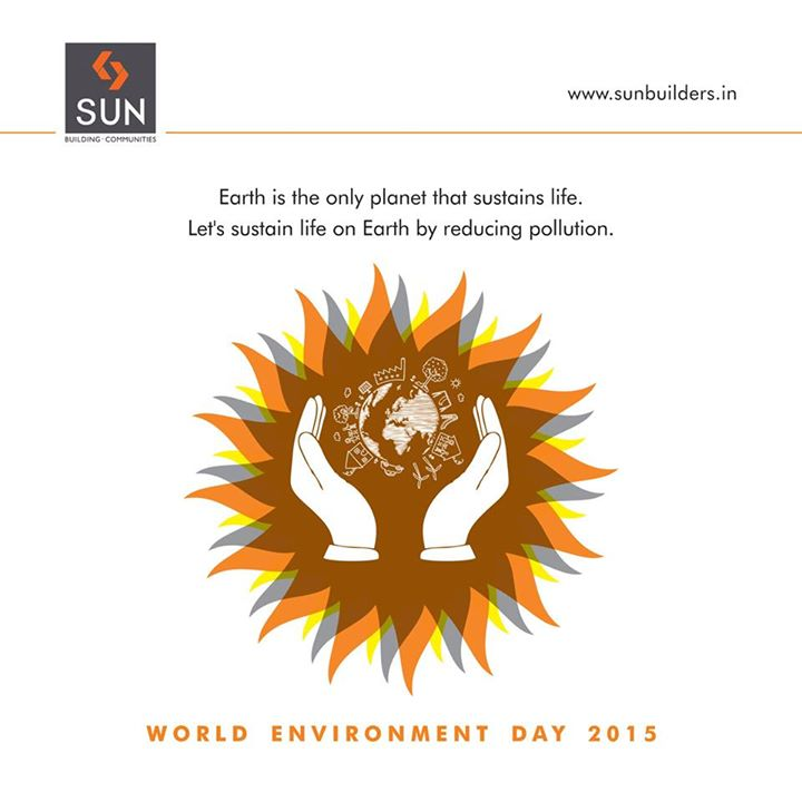 Our Mother Earth has given us so much. It's time we give back to our planet by adopting greener ways of living and conserving the environment. #WorldEnvironmentDay2015