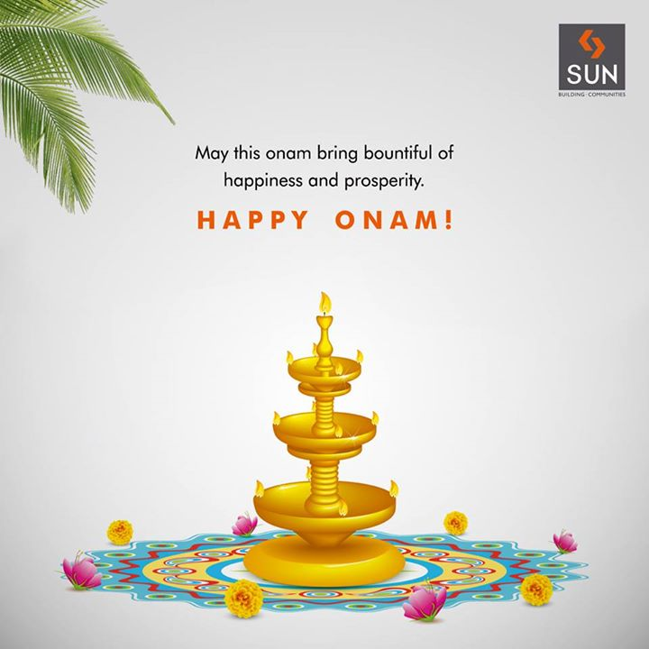 Sun Builders Group wishes everyone a very Happy Onam today!