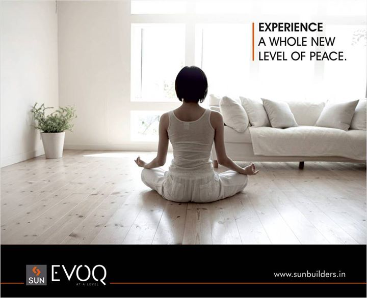 Sun Evoq brings you innovative life spaces that are meticulously designed to create generous outdoor areas and peaceful interior spaces.  To know more, visit: www.sunbuilders.in/sun-evoq