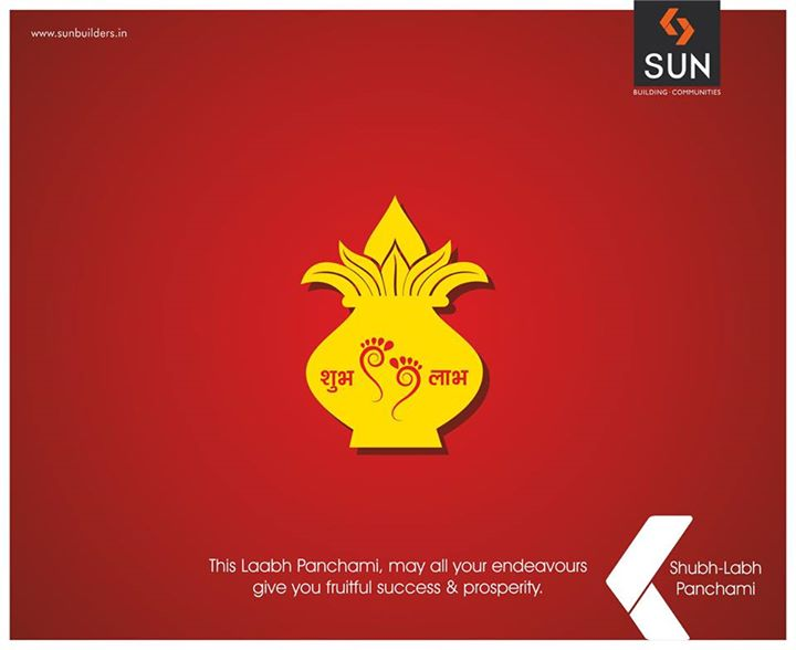 Everything starts fresh on Labh Panchami!  Wishing you all a successful year ahead!
