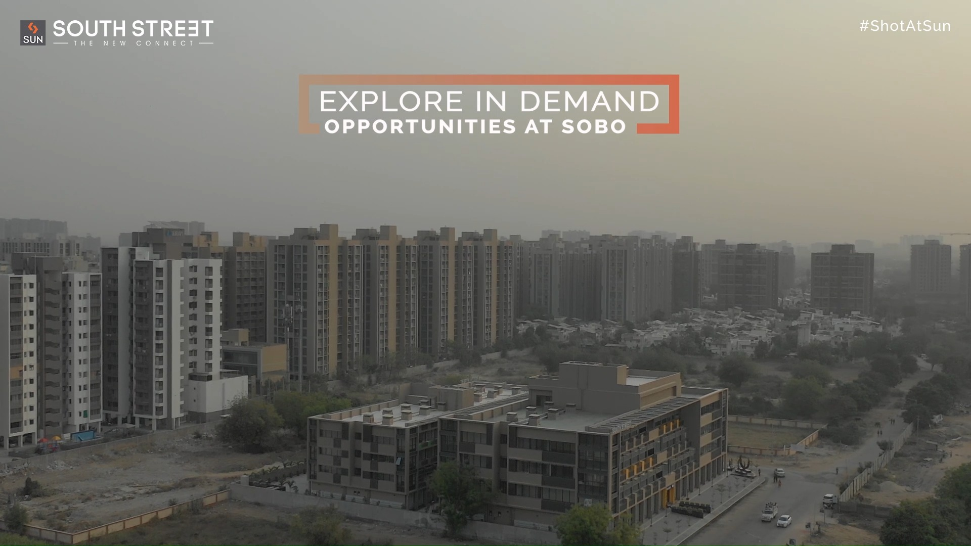 """Explore in demand opportunities with a promising cosmopolitan hub which is all set to begin your journey towards success. Sun South Street is the """"New Connect"""" designed for today's needs, hosting exclusive Retail Segments and bringing Health Care, Fashion Brands, Restaurants and much more together, under one roof.  For Details Call: +91 99789 32081  Architect: @hm.architects Location: South Bopal Status: Ready Possession Video Credits: @panjwani.vinay  #SunBuildersGroup #ShotAtSun #SunBuilders #SunSouthStreet #Retail #Showrooms #SouthBopal #SOBO #ReadyPossession #BuildingCommunities #realestateahmedabad"""