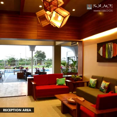 Enjoy luxurious comforts and leisurely conversation in the weekend retreat, Sun Solace at Sanand. Explore more comforts here: http://bit.ly/2h8hT1g  #SunBuilders #WeekendHome #SunSolace