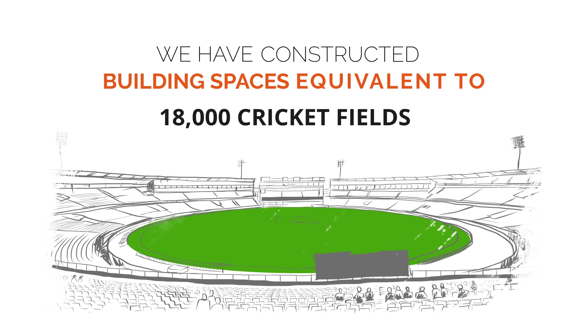 When we Promise, We Deliver.  Sun Builders Group has always kept its ethos intact. We take pride in constructing 10 Million Sq. Ft. spaces which is equivalent to 18,000 Cricket Fields and there's much more to come.   #SunBuilders #SunBuildersGroup #PremiumLiving #Ahmedabad #Gujarat #RealEstate #Residential #Commercial #WePromiseWeDeliver #Construction