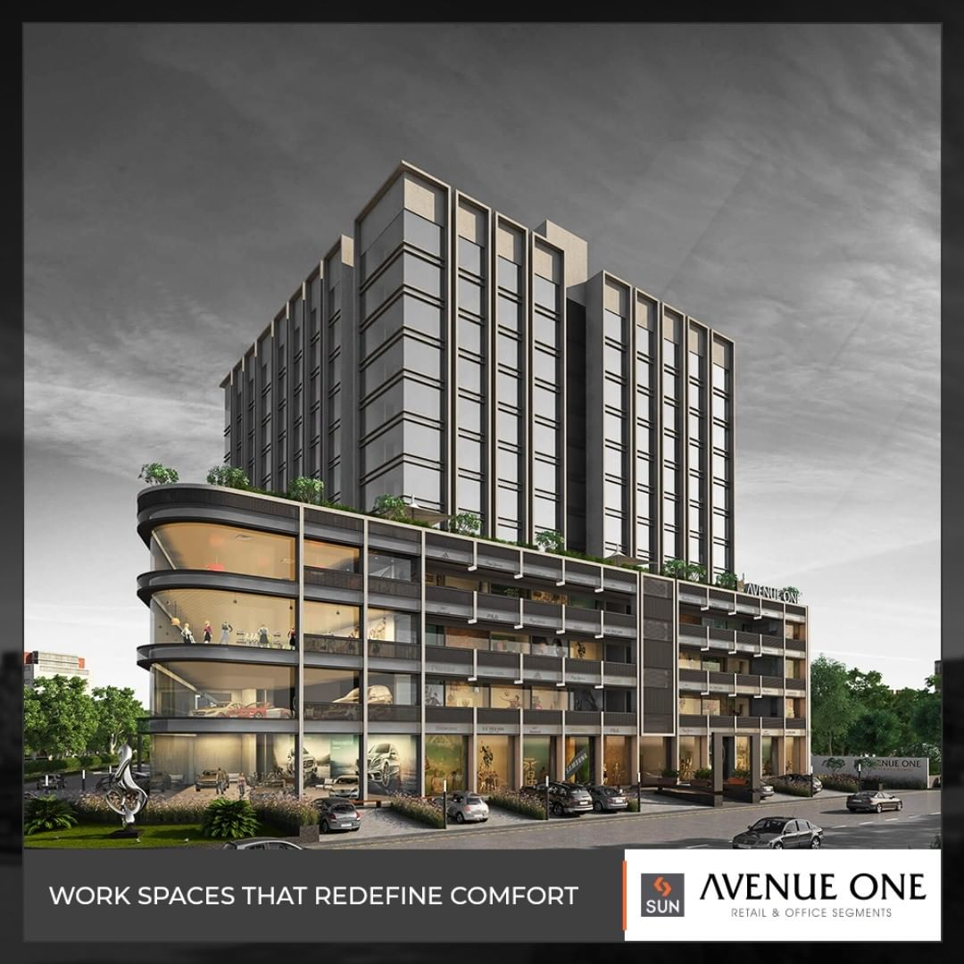 Embrace the next level of corporate comfort!  #AvenueOne #SunBuildersGroup #RealEstate #SunBuilders #Ahmedabad #Gujarat
