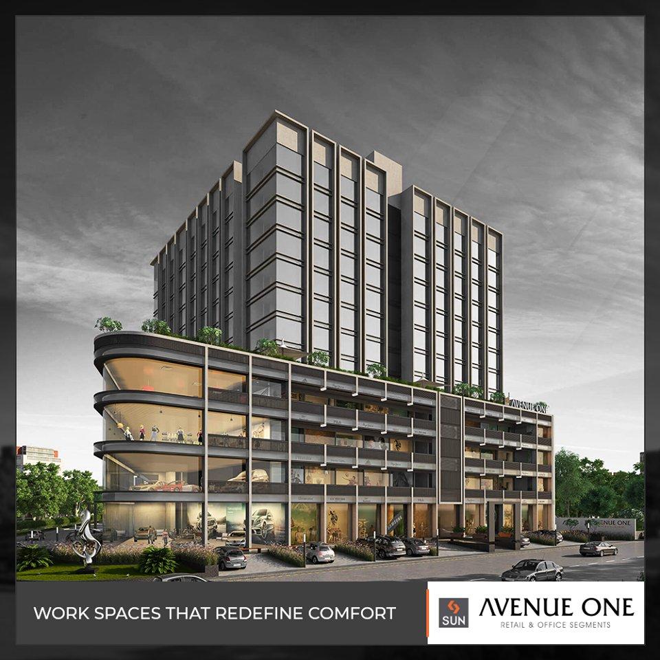 Embrace the next level of corporate comfort!  #AvenueOne #SunBuildersGroup #RealEstate #SunBuilders #Ahmedabad #Gujarat https://t.co/9RagOp6V7K
